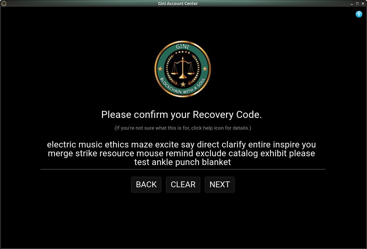 Recovery Code Confirmed