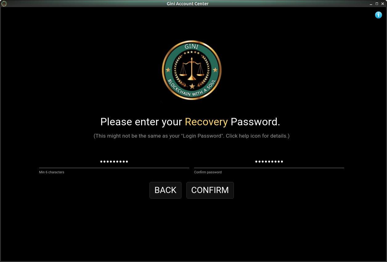 Recovery Password